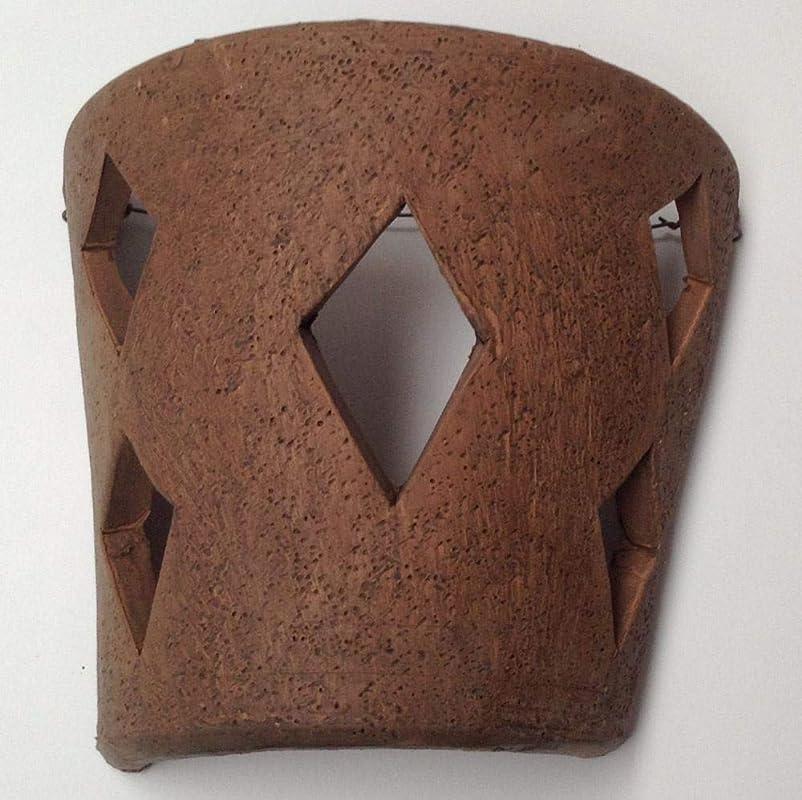 Aplique de pared para colgar de barro rustico teja ext. e int. 24x20cm: Amazon.es: Handmade