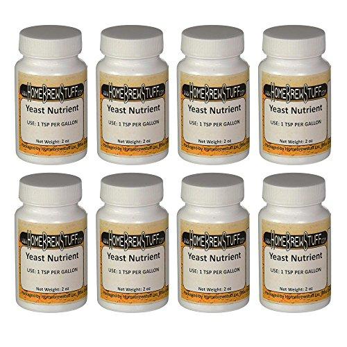 Yeast Nutrient – 2 oz. Pack of 8