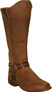product image for Abilene Women's Equestrian Wellington Boot Square Toe Tan 7 M US