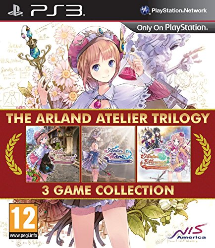 The Arland Atelier Trilogy: 3 Game Collection [Playstation 3, PS3 RPG] (Atelier Collection)