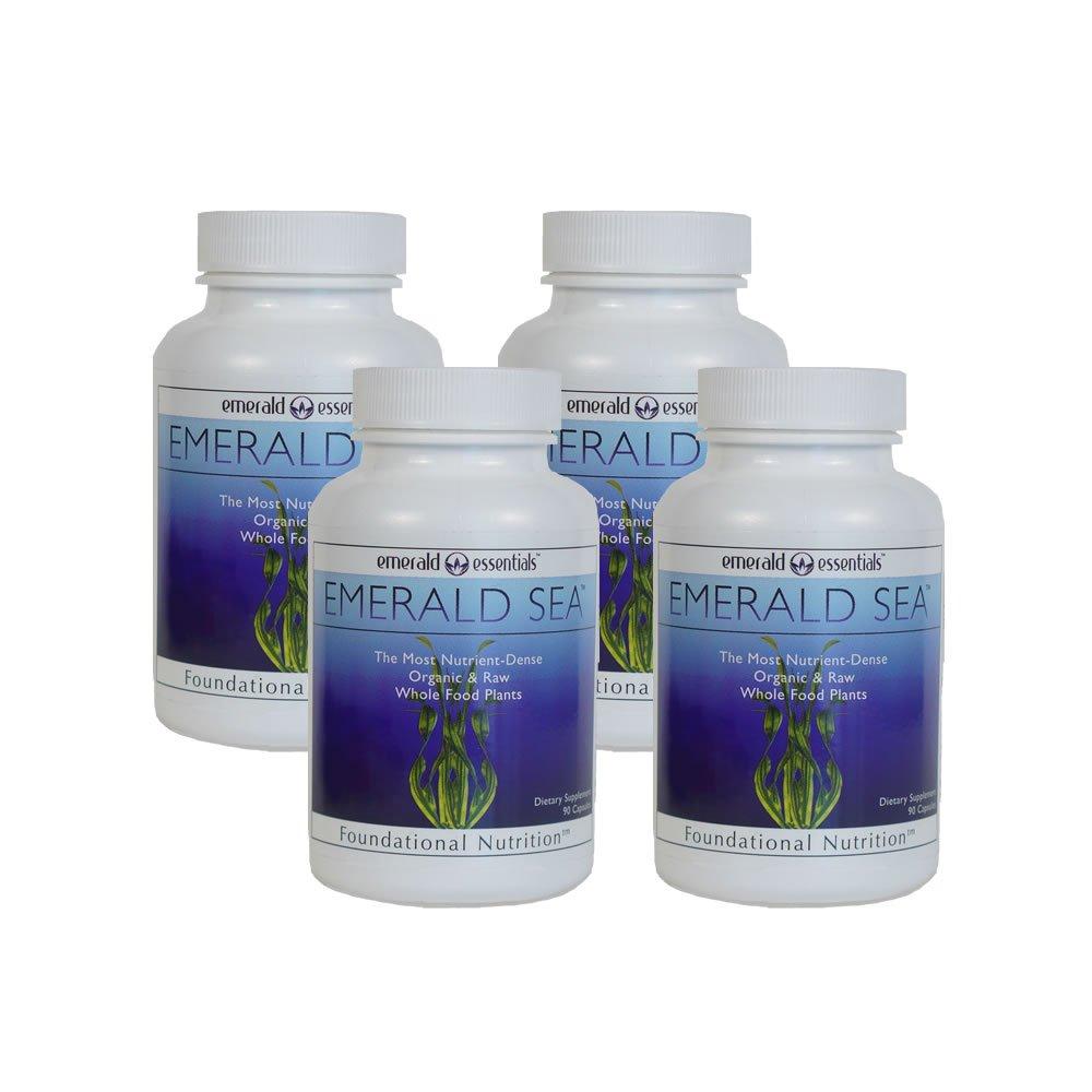 Emerald Sea Raw Organic Seaweed - (4 Pack)