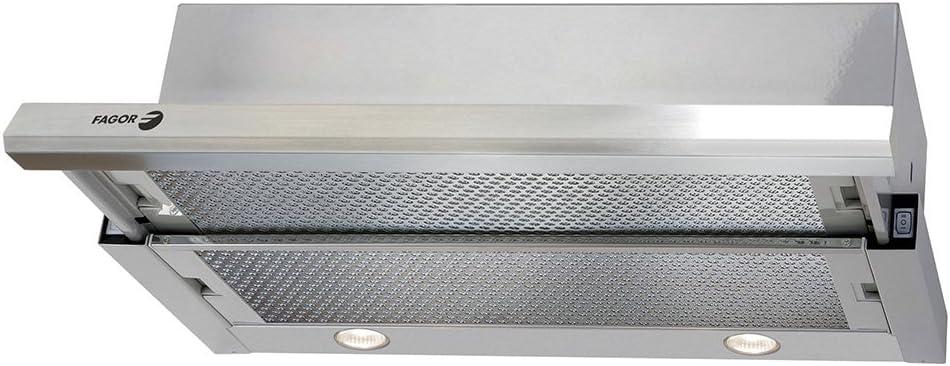 Fagor AF3-647XA - Campana telescopica 60cm acero inoxidable clase de eficiencia energeti: Amazon.es: Grandes electrodomésticos