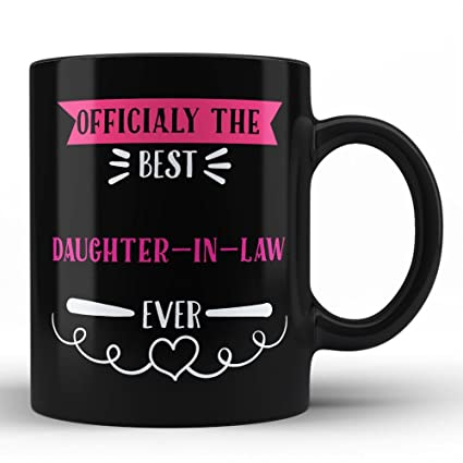 Amazon Officially The Best Daughter In Law Mug