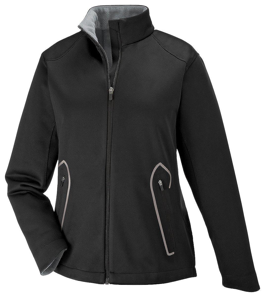 Splice Ladies Light Bonded Soft Shell Jacket With Laser Welding XL Black