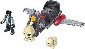 Fisher-Price Imaginext DC Super Friends Lobo Figure & Motorcycle,Multi
