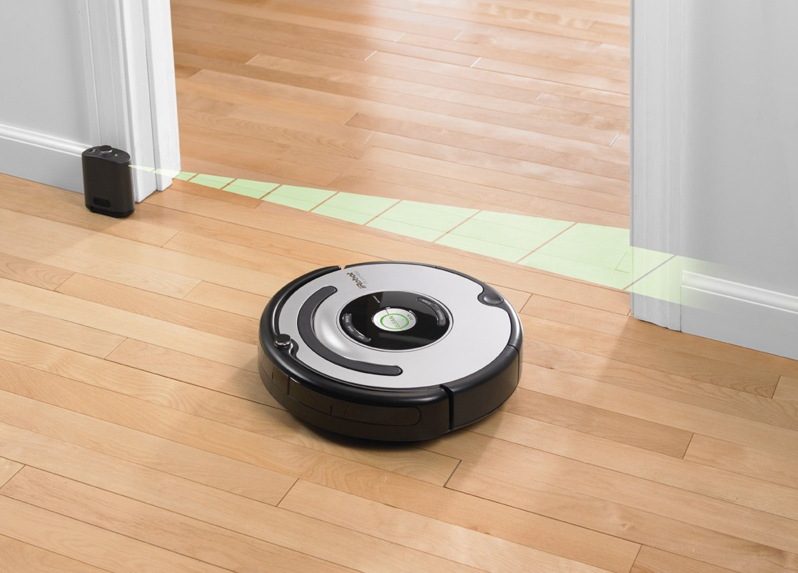 iRobot 560 Roomba Vacuuming Robot, Black and Silver(Versin EE.UU., importado): Amazon.es: Hogar
