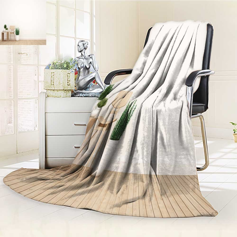 Luxury Double-sides Reversible Fleece Blanket dining area and library area in living room or cafe d rendering Couch Blanket,Travelling and Camping Blanket(90''x 70'')