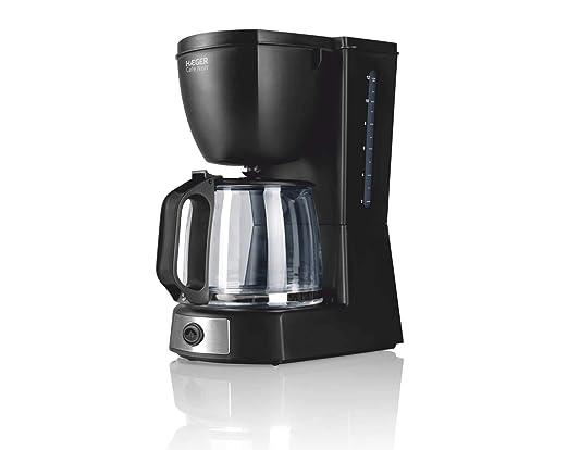 HAEGER CAFÉ Noir - Cafetera Eléctrica, 680W, 1.2L (Capacidad para ...