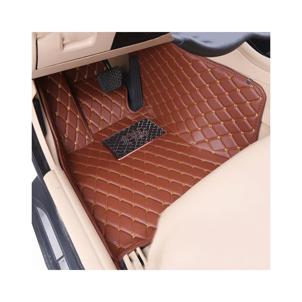 Rainproof Car Floor Mats Front /& Rear Liner Mat for VW Tiguan 2014-2016 Black