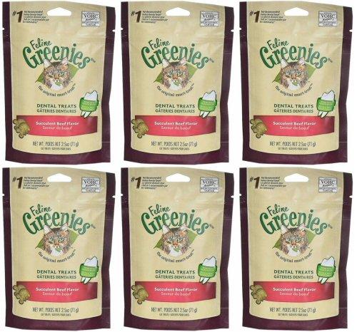 6-PACK Greenies Felines – SUCCULENT BEEF (15oz) Review