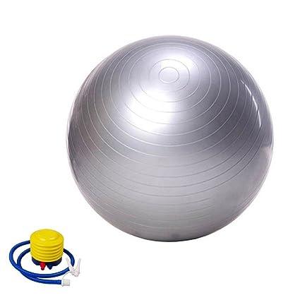 missley pelota de ejercicio, Premium Extra Grueso Yoga Ball – Pelota de gimnasia (Incluye Bomba de pie. Anti-Burst – Antideslizante. Pelotas de 65 cm ...