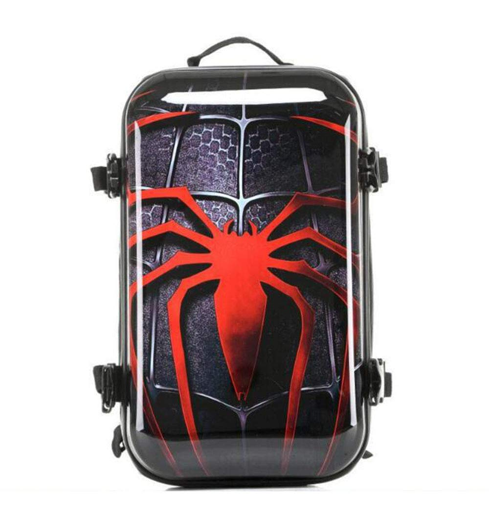 Spiderman luggage Trolley Case Luggage Case Suitcase Spinner Carry-On Luggage Hardshell Exterior Sleek Boarding Bag by HongHe (Image #1)