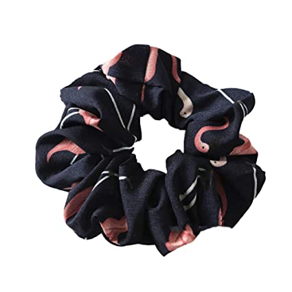 Gohigher - Corbata de pelo para niñas con diseño de flamenco ...