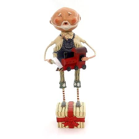 Lori Mitchell WORKSHOP SANTA Polyresin Christmas Tools Toys 11017