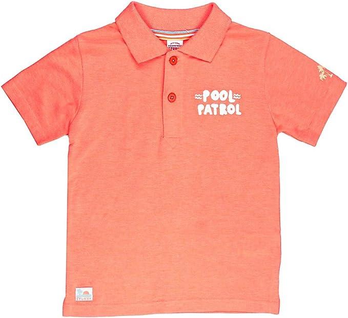 Sturdy - Polo de piqué, Color Naranja neón Naranja neón 128 ...