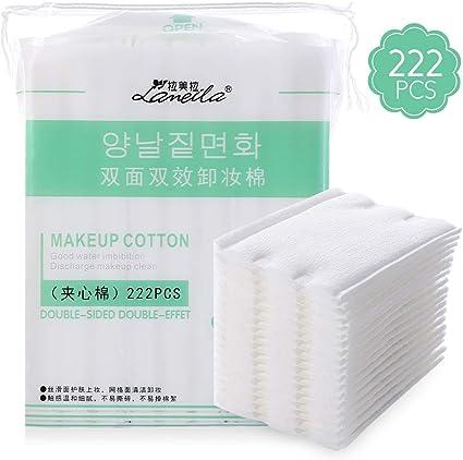 Almohadillas de algodón, toallitas de maquillaje cosméticos ...