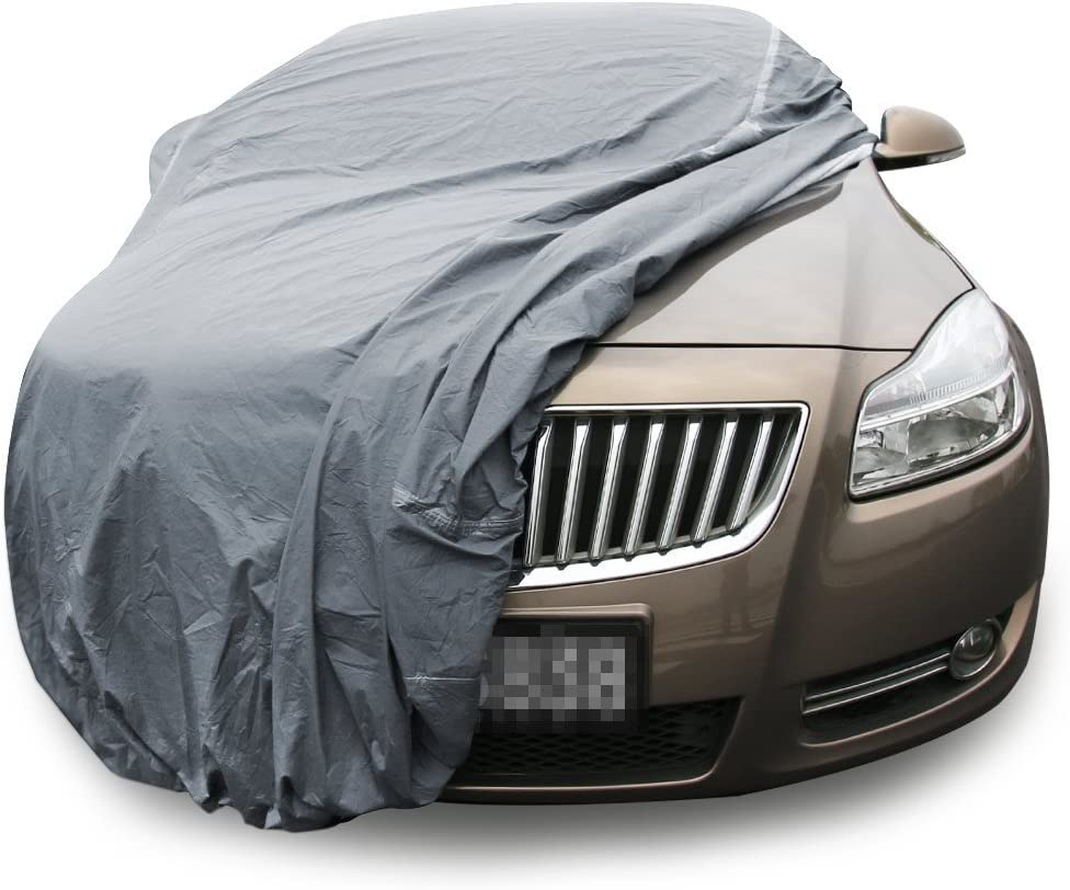 XL Size up to 185 Copap Full Car Cover Nylon for Sedan Windproof Dustproof Scratch Resistant UV Protection Indoor Outdoor