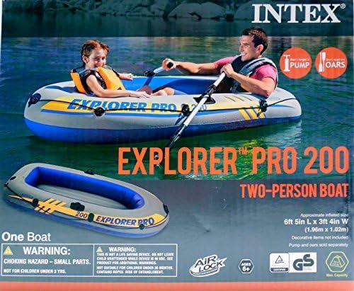Amazon.com: Intex Explorer Pro 200 Dos Persona Barco – Barca ...