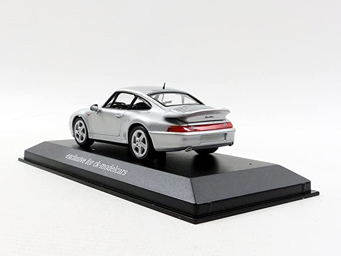Minichamps - Maqueta de Porsche 911/993 Turbo - 1997 - Escala 1/43, 943069203, Plata: Amazon.es: Juguetes y juegos
