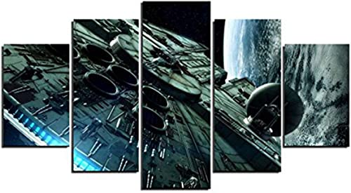 JESC Large Size Paintings Movie Painting Print on Canvas Art