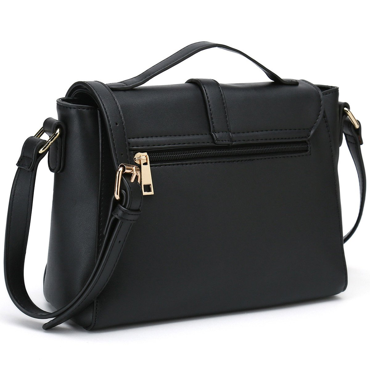 2ebe6e71df26 Ladies Designer Purses Cross Body Handbags Trendy Bags for Women Shoulder  Bags (Black)  Handbags  Amazon.com