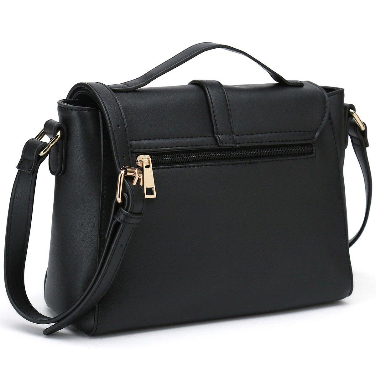 13f8d5a39ce4 Ladies Designer Purses Cross Body Handbags Trendy Bags for Women Shoulder  Bags (Black)  Handbags  Amazon.com