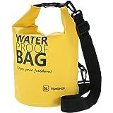 TOMSHOO 10L/20L Waterproof Dry Bag Roll Top Dry Sack Gear Storage Bag with Adjustable Shoulder Straps for Kayaking Rafting Boating Beach Canoeing Camping Snowboarding