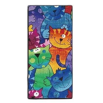 Con diseño de gatos de perros y gatos Super absorbente toalla de pelo de microfibra toalla