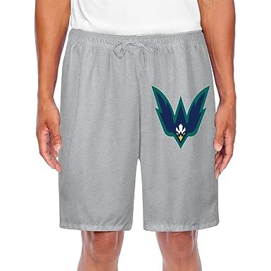 men s unc wilmington seahawks 2 logo shorts sweatpants at amazon