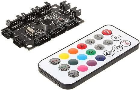 WINJEE, Computadora de música Ajustable PC RGB Panel de Control ...
