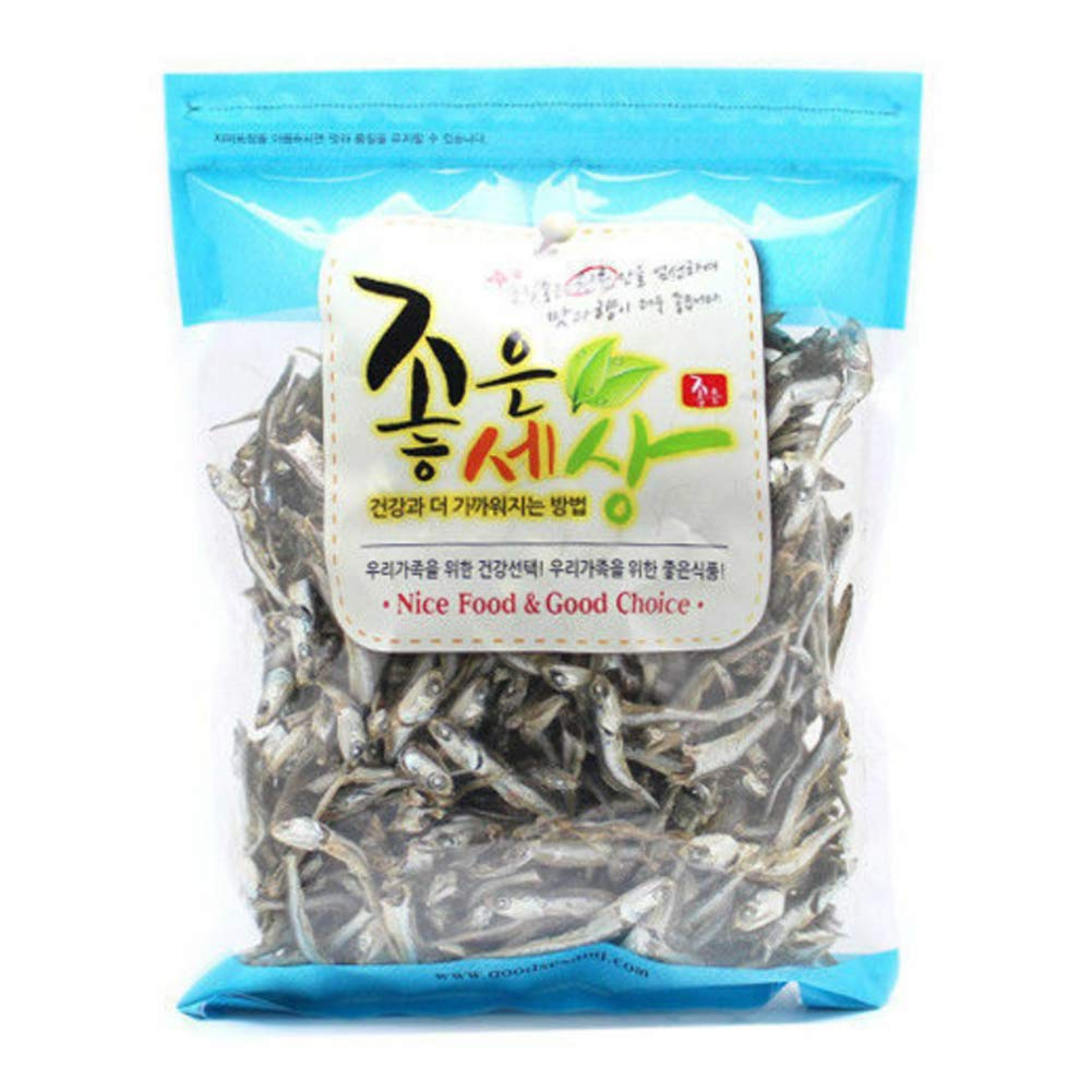 250g Dried GOVA Anchovies For Soup Stock Snack MADE IN KOREA Chewy (1EA)