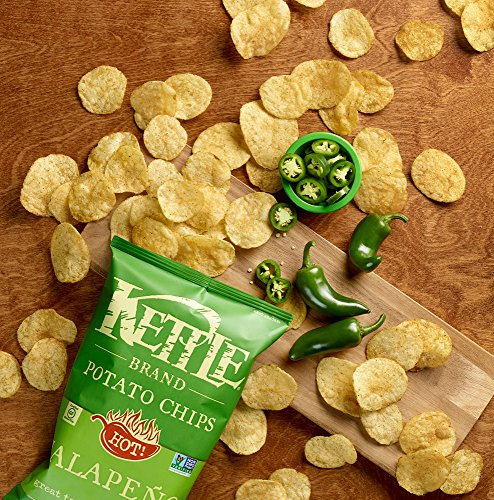 Kettle Brand Potato Chips, Jalapeno, 1.5 oz by KETTLE FOODS (Image #3)