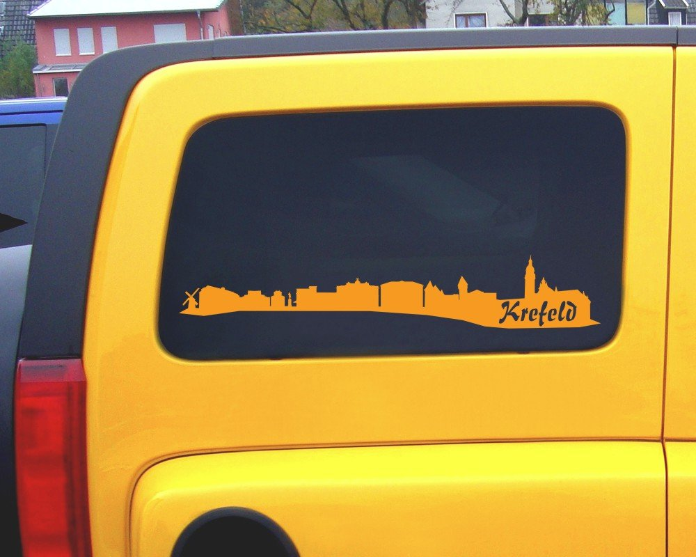 Samunshi® Aufkleber Krefeld Krefeld Krefeld Skyline Autoaufkleber in 9 Größen und 25 Farben (140x25cm kupfermetalleffekt) B007JFPJ8C | Rich-pünktliche Lieferung  bab1bb