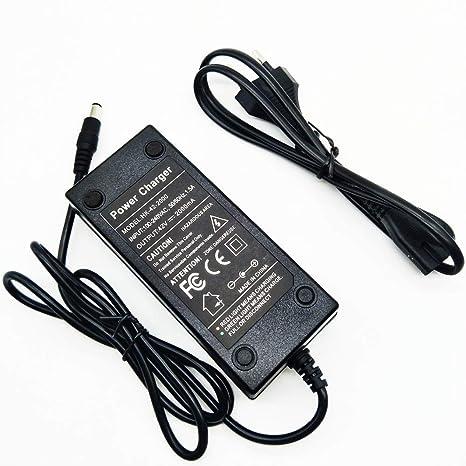 Cargador de batería Li-Ion 36 V 2,0 A coaxial connettore ...