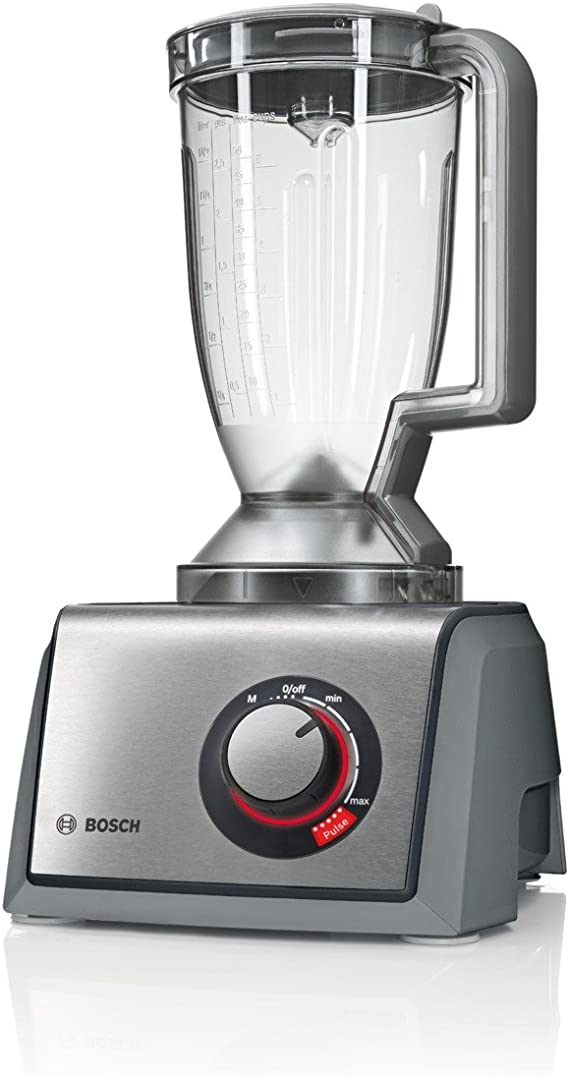 Bosch MCM68861GB Food Processor, 1250 W, 3.9 L - Brushed Stainless Steel by Bosch: Amazon.es: Hogar