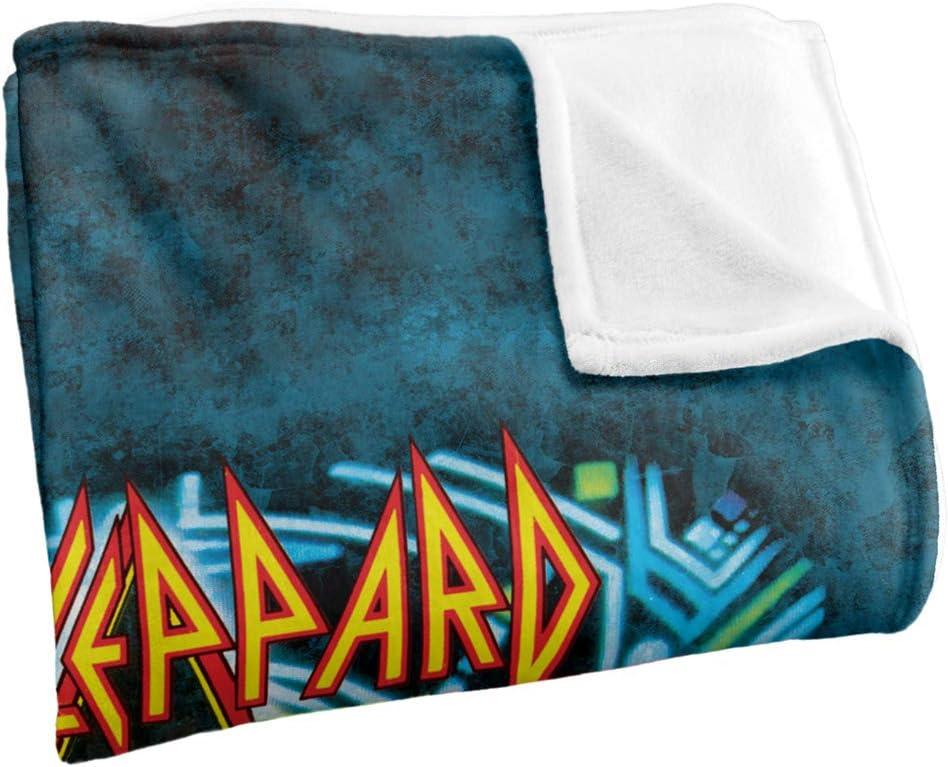 Def Leppard THE BOYS POLAR FLEECE BLANKET Sized 36 x 58 Officially Licensed