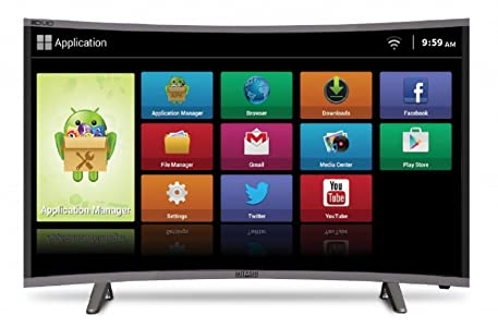 Mitashi 80.01 cm (31.5 Inches) HD Ready LED Smart TV MiCE032v30 HS (Black) (2017 model)