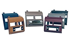 Scosche GM1482DBB Single DIN Installation Dash Kit for Select 1988-1994 Chevrolet & GM Trucks (Dark Blue)