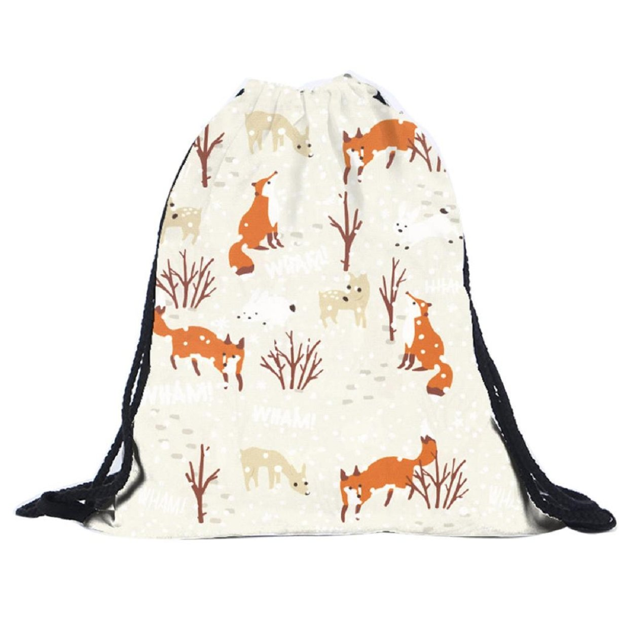 Lookatool Unisex Backpacks 3D Printing Bags Drawstring Backpack