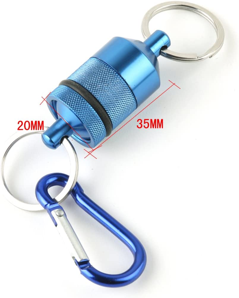 magnetischer Netzhalter mit Umh/ängeband Kelis Magnetischer Netzausl/öser f/ür Fliegenfischen