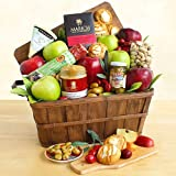 Autumn Harvest Fruit and Cheese Gift Crate
