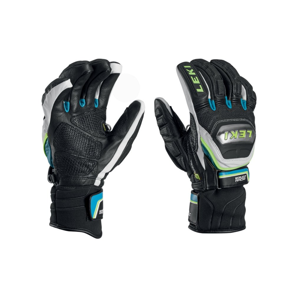 LEKI Accessories World Cup Racing Ti S Glove Black/Cyan