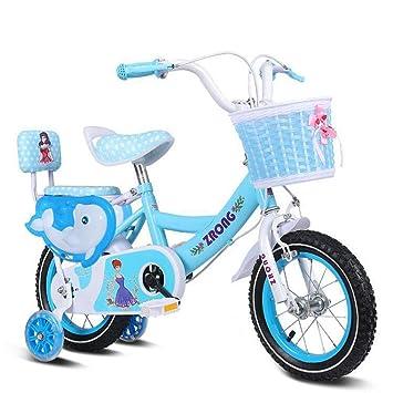 1-1 Bicicleta niña 14 Pulgadas - Niño 4-5 años de Edad - Neumático ...