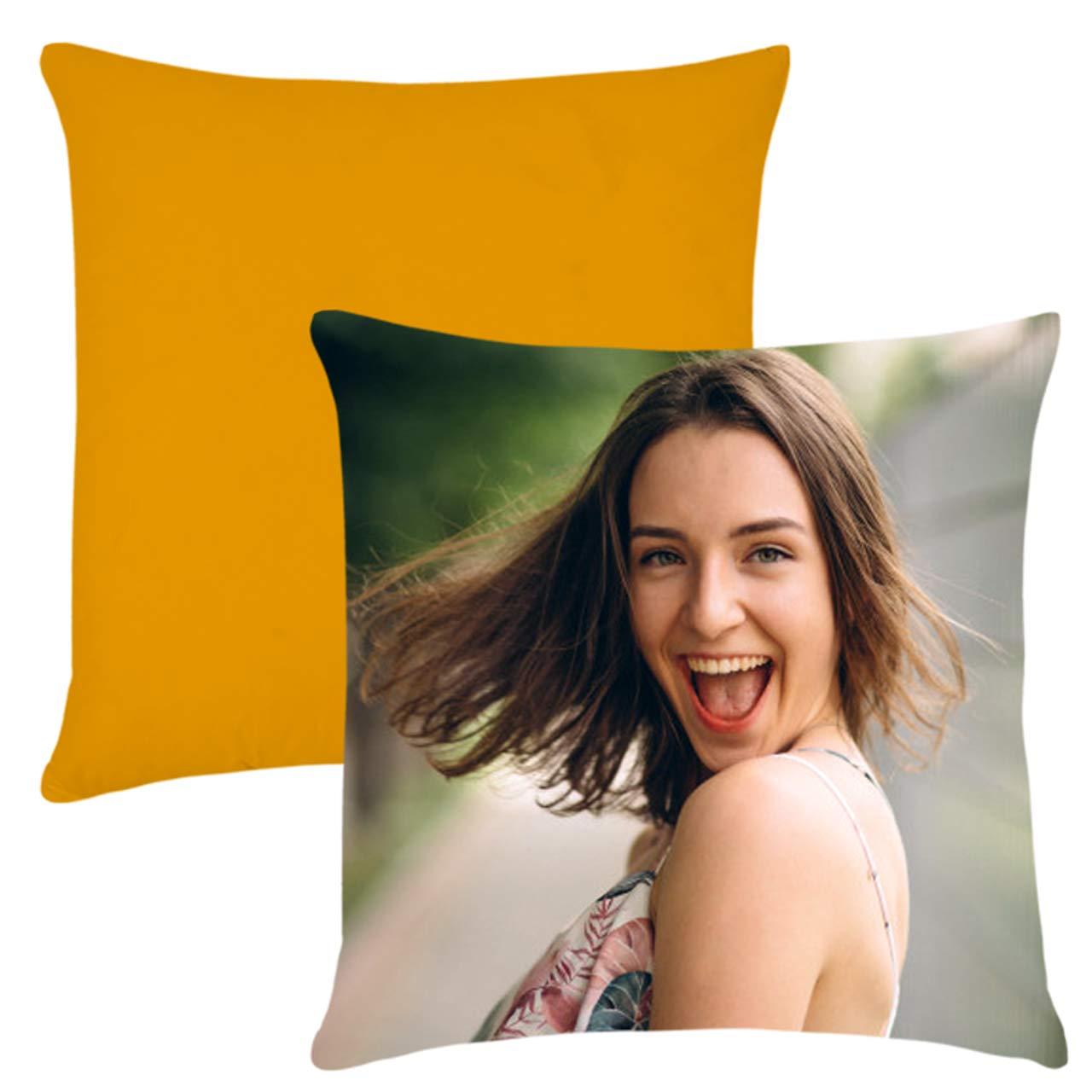 Age Print Cuscino Personalizzato con Foto Retro colorato 40x40cm Lime