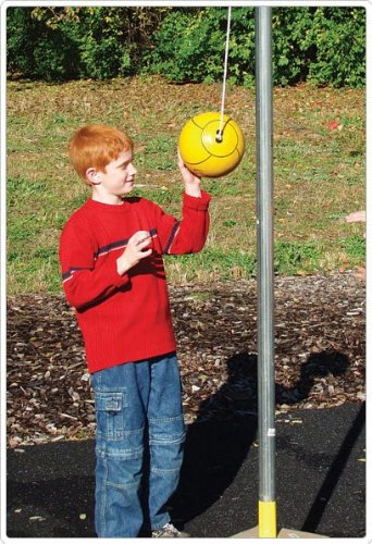 Sports Play 571-110-2 Tether Ball Post - Two Piece by Sports Play Equipment