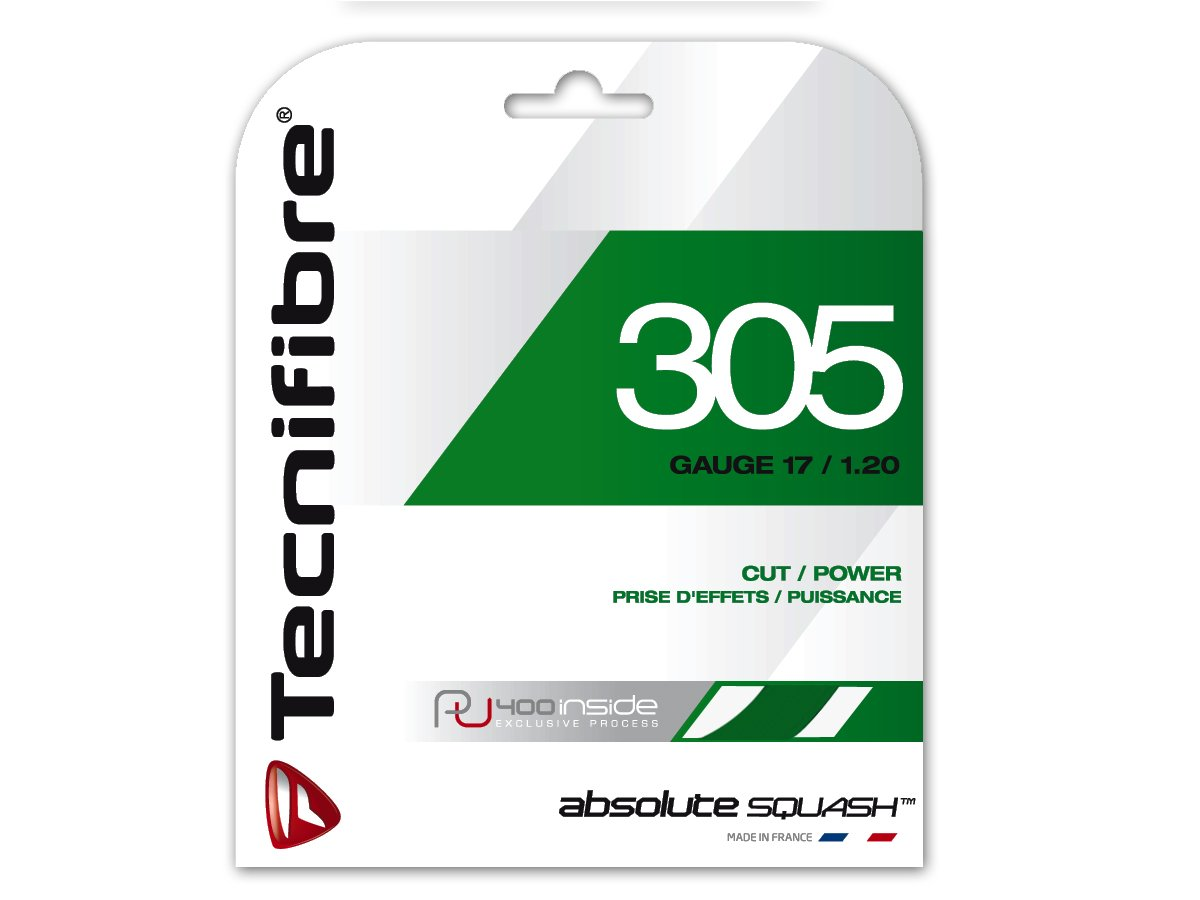 Tecnifibre 305à' Squash String Green, Thickness: 1.2à' mm by Tecnifibre 122370