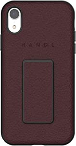 HANDL Inlay CASE for iPhone XR - Merlot Pebble