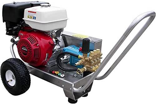 Pressure Pro EB4040HC Heavy Duty Professional 4,000 PSI 4.0 GPM Honda Gas Powered Belt Drive Pressure Washer