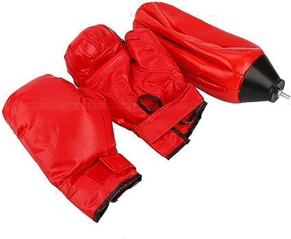 Juego de boxeo para saco de boxeo punching ball Trainer Stand de altura regulable 120/ /150/cm pelota de boxeo con saco de boxeo guantes