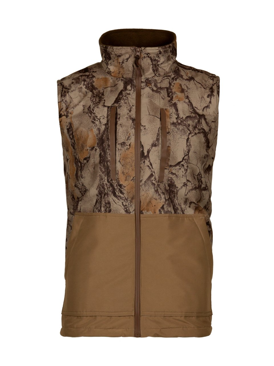 Natural Gear Camo Waterfowl Vest, Waterproof Hunting Vest for Women and Men with Fleece Lining, 100% Dri Stalk Material (XXX-Large) by Natural Gear